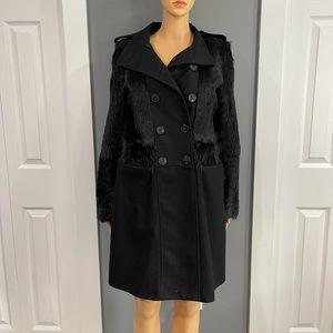 RARE Burberry Wool Trench Coat